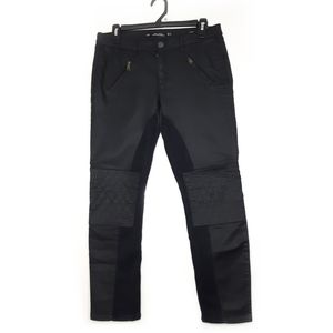 Zara Size 8 Black Pleather Pants